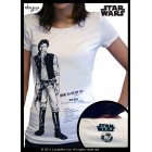 "STAR WARS - Tshirt ""Han Solo"" Large"