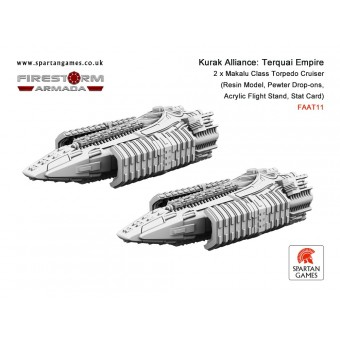 Kurak Alliance - Terquai Empire Makalu Class Torpedo Cruiser