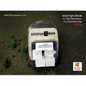 Dystopian Wars - Small Flight Stands Base and Peg Set