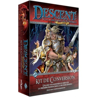 Descent : Seconde Édition Kit de Conversion