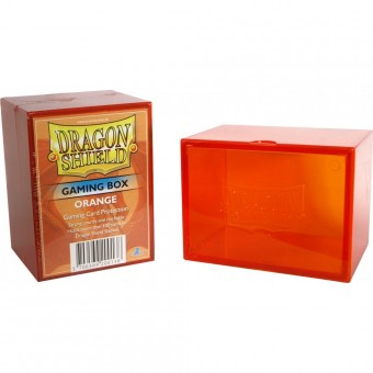 Boite de Rangement de Cartes Dragon Shield Orange