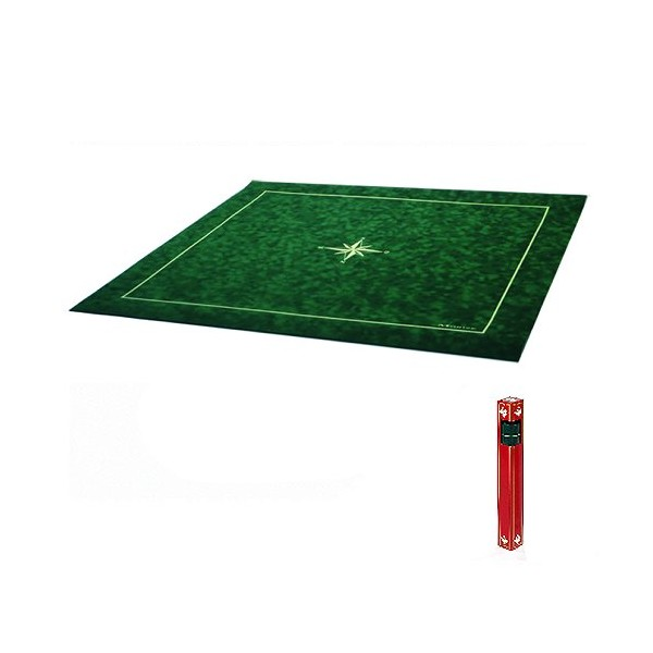 tapis tarot carre vert boutique philibert With tapis 160x160 carré
