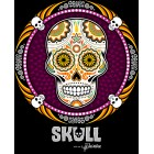 T-Shirt Skull Mexicain - Joueur Small