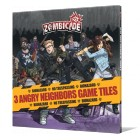 Zombicide : 3 Angry Neighbors Game Tiles