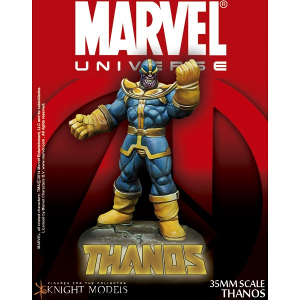 marvel universe thanos 35mm boutique philibert. Black Bedroom Furniture Sets. Home Design Ideas