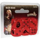 Zombicide : Black Plague - Set de Dés Rouges