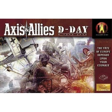 Axis and Allies DDay
