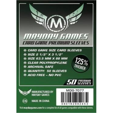 Card Game Sleeves Premium - 63.5x88mm - 50p