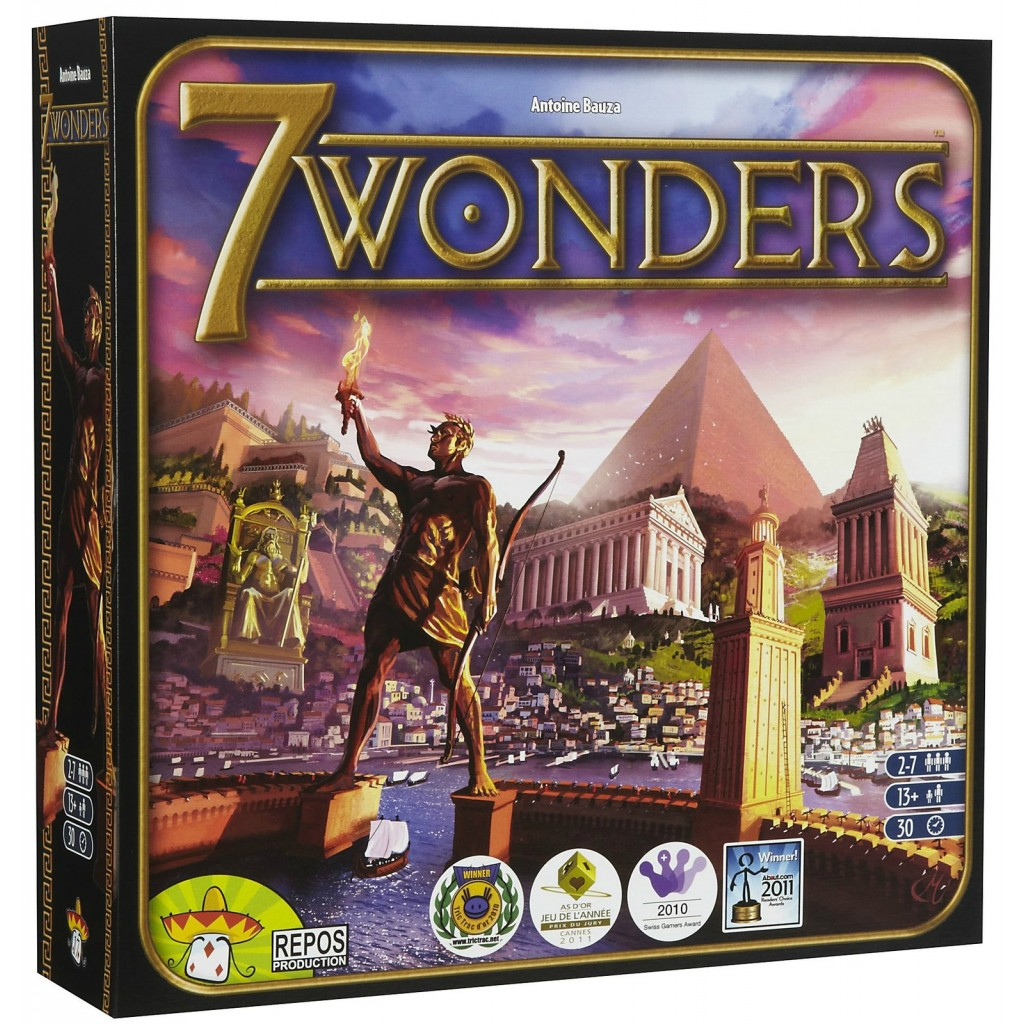How To Play 7 Wonders - Board Game Halv