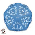 D20 Blue & white Card Game Level Counter 0