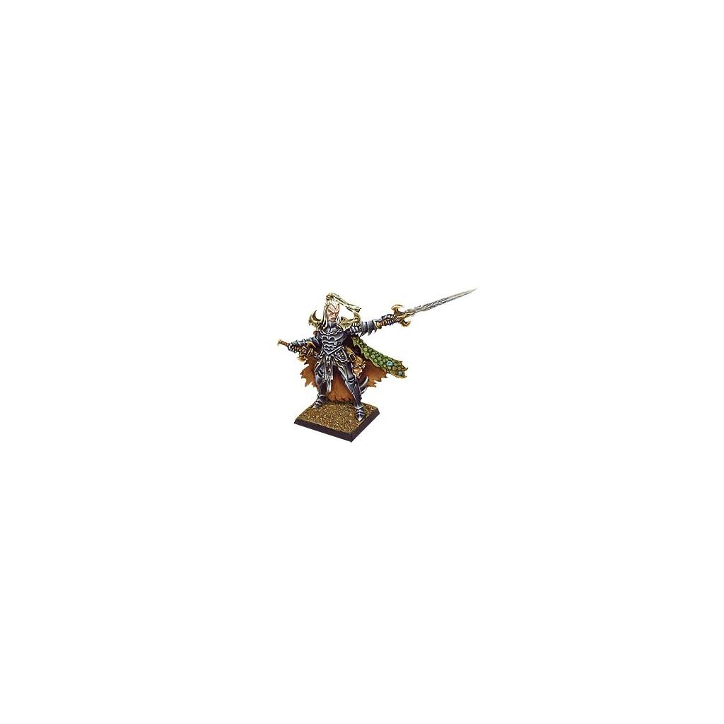 Avatars of War AOW06 Dark Elves Prince Character