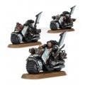 W40K : Adeptus Astartes Dark Angles - Ravenwing Command Squad 2