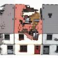 Rue 20ème siècle - Maison centrale détruite 1