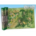 Terrain Mat Tissue - Wings of Glory : Game Mat Countryside - 68x98 0