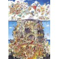 Puzzle - Heaven and Hell de Hugo Prades - 1500 Pièces 0