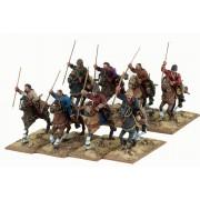 Guerriers Sarrasins à cheval