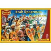 Lanciers, archers , javeliniers Arabes Plastiques