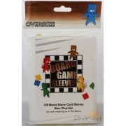 100 Board Game Sleeves 79x120mm