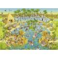 Puzzle - Nile Habitat de Marino Degano - 1000 Pièces 0