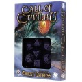 Set de 7 Dés Call of Cthulhu - Horror on the Orient Express Noir / Violet 0