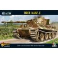 Bolt Action  - German Tiger I Ausf. E heavy tank (plastic boxe) 0