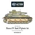 Bolt Action - German Panzer IV Ausf. F1/G/H medium tank (plastic boxe) 4