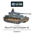 Bolt Action - German Panzer IV Ausf. F1/G/H medium tank (plastic boxe) 5