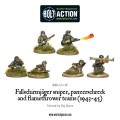Bolt Action - German - Fallschirmjager Sniper, Panzerschreck and Flamethrower Teams (1943-45) 0
