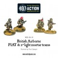 Bolt Action - British - Airborne PIAT and Light Mortar teams 1