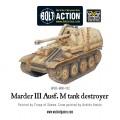 Bolt Action - German - Marder III Ausf. M tank destroyer 1
