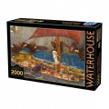 Puzzle - Ulysses and the Sirens de John William Waterhouse - 2000 Pièces 0