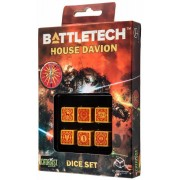 Dice Set D6 - Battletech House : Davion