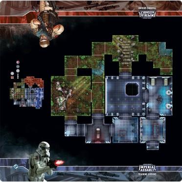 Star Wars: Imperial Assault: Skirmish Maps - Training Ground