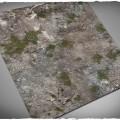Terrain Mat Cloth - Medieval Ruins - 120x120 0