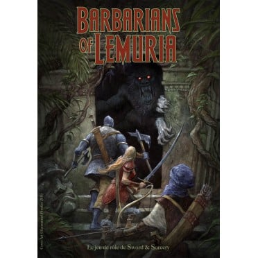 Barbarians of Lemuria - Edition Mythic