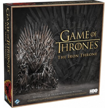 Buy Game Of Thrones The Iron Throne Board Game