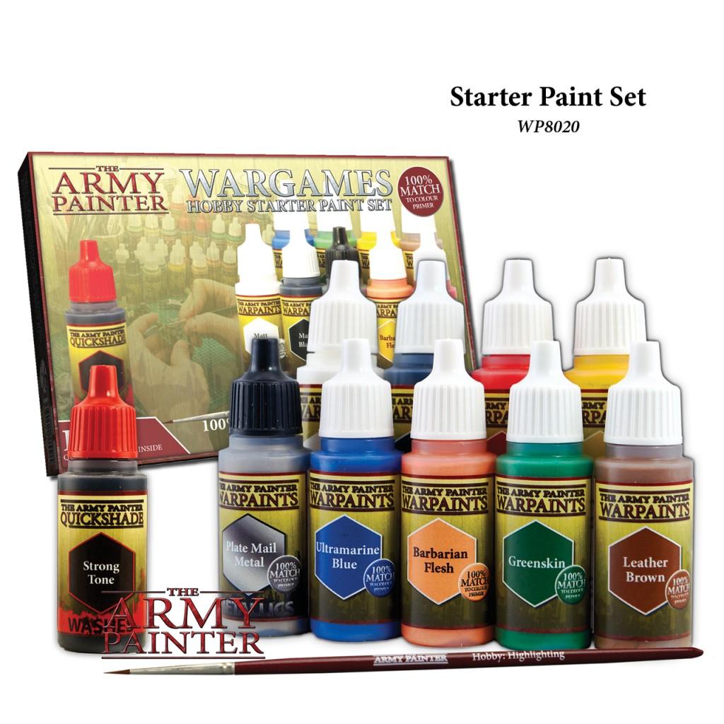 Acheter Army Painter Warpaints Starter Paint Set Jeu De