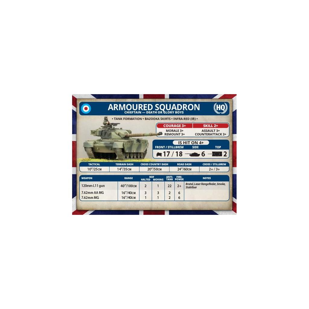 Buy Team Yankee - Chieftan Armoured Troop - Board Game