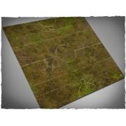 Terrain Mat Mousepad - Fantasy Medieval Football Mat - Muddy Fields - 90x90