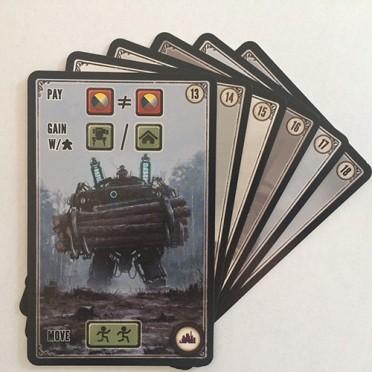 Scythe - Factory Cards