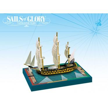 Sails of Glory - HMS Leander 1780 - HMS Adamant 1780