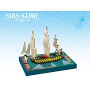 Sails of Glory - HMS Léopard 1790 - HMS Isis 1774