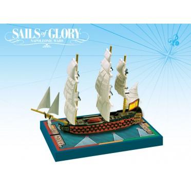 Sails of Glory - Principe de Asturias 1794 - San Hermenegildo 1789