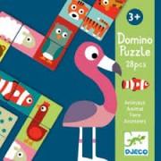 Domino Puzzle - Animaux