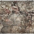 Terrain Mat Mousepad - Urban Ruins - 90x90 2