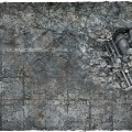 Terrain Mat PVC - City Ruins - 120x120 3