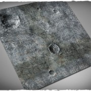 Terrain Mat PVC - City Ruins - 90x90