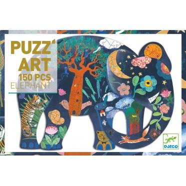 Puzz'Art - Éléphant - 150 pièces