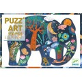 Puzz'Art - Éléphant - 150 pièces 0
