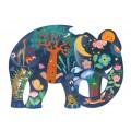 Puzz'Art - Éléphant - 150 pièces 1